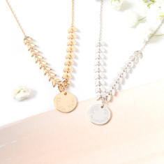 Personalised Laurel Necklace
