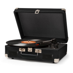 Crosley Cruiser II Portable Turntable With Battery - Black