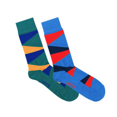 Lafitte large triangle socks (2 pack)