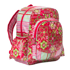 Large backpack in Zoe Selma Stripe print