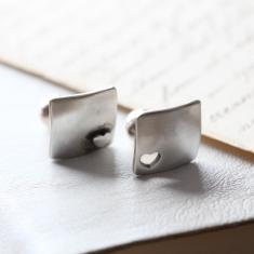 Heart Cut Out Cufflinks