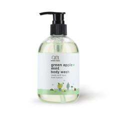 Green apple mint body wash