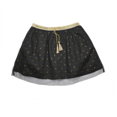 Girl's tutu party skirt in black