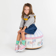 Woouf Bean Bag Cover - Carousel