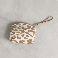 Marie clutch in big leopard