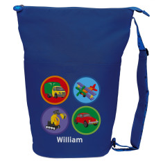 Personalised transport swim bag
