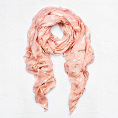 Monica Scarf in Pink