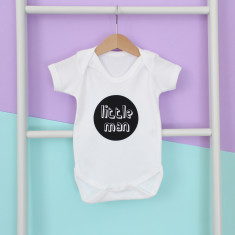 Little Miss or Man Onesie