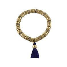 Boho candy tassel bracelet