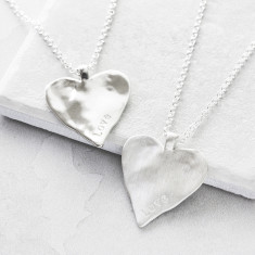 Silver Maxi Heart Necklace