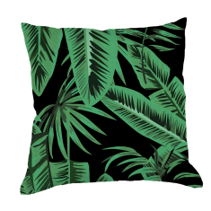 Banana Palms Cushion Cover in Nocturnal (Beauty of Asia Collection)