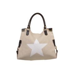 Star White Shoulder Bag