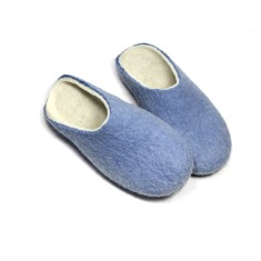 Women's Wool Clogs Serenity Blue