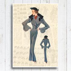 Madame Veronique Print