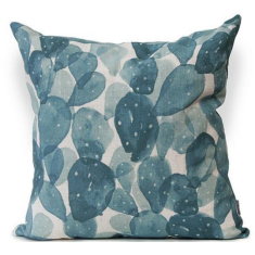 Mexitili Urban Aztec Cushion Cover in Jade
