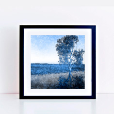 Blue gum limited edition fine art giclee print