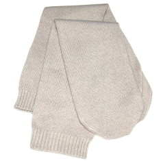 Cashmere sleep socks in stone (set of 2)