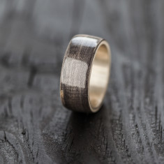Recycled Skateboard Ring bentwood