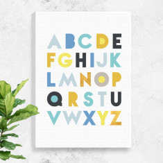 Alphabet Canvas