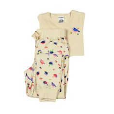 Willy wagtail track style pyjama set