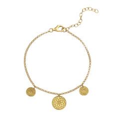 Frida bracelet in yellow gold