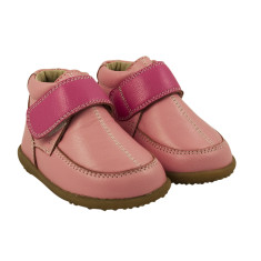 Pink toddler anklet winter boots