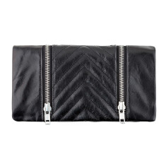Alice leather wallet in black