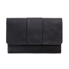 Ida leather wallet in black