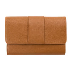 Ida leather wallet in tan