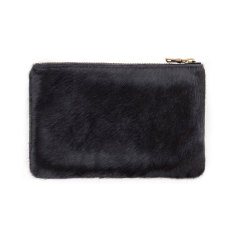 Maud leather wallet in black