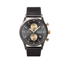 Walter Lansen watch in chrono black