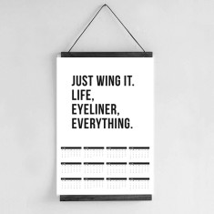 Wall Calendar 2017 - Just Wing It