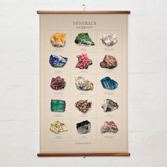 Minerals Wall Hanging