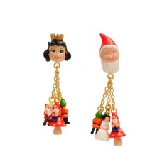 Snow White and the 7 Dwarves earrings