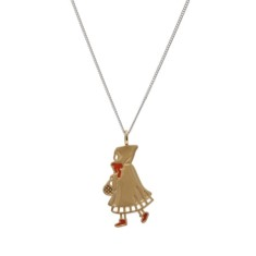 The little red riding hood necklace