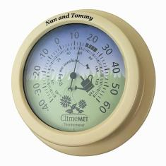 Personalised Garden Flowers Thermometer