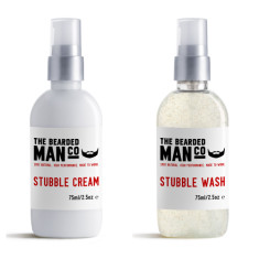 Stubble Wash & Cream Combo