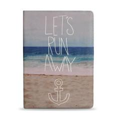 Let's Run Away iPad Tablet Folio Case