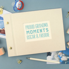 Personalised Mini Grandparent's Family Photo Album