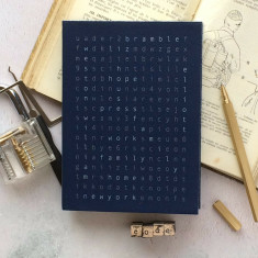 Personalised word search 2018 diary