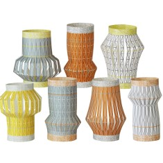 Weave paper lanterns