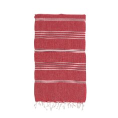 Original kids Turkish towel in red