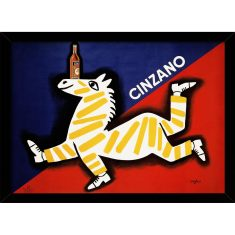Cinzano Zebra Print