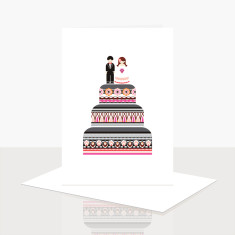 Wedding Cake Greeting Card (Pack of 8)
