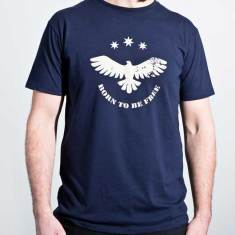 Wedgie organic cotton men's tee