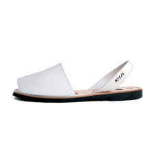 Morell leather sandals in white
