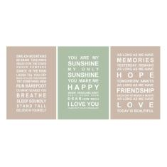 Welcome to the world A3 posters in gender neutral (set of 3)