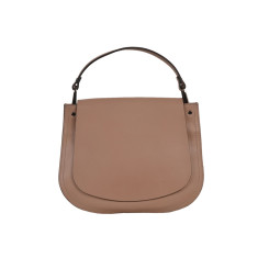 Leather Bag for Women in Nude