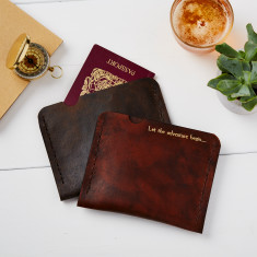 Leather case for Passport