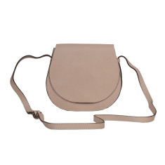 Beige Small leather Cross-body bag
